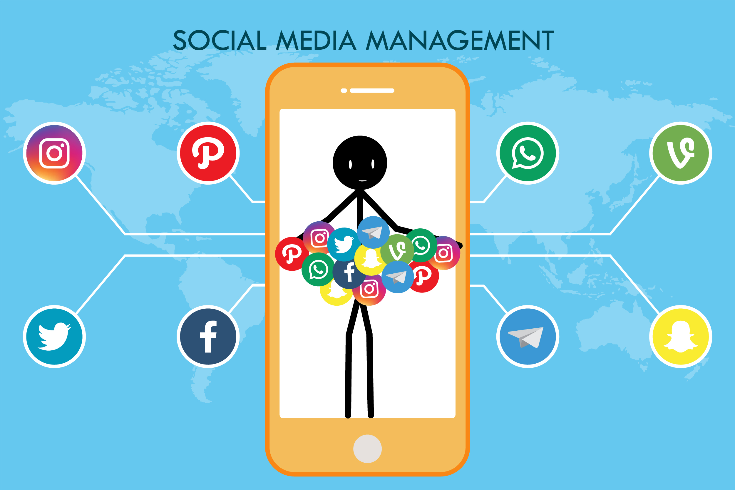 Virtual Personal Assistant Tasks - Social Media Management