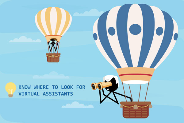 Search to Hire Virtual Assistants