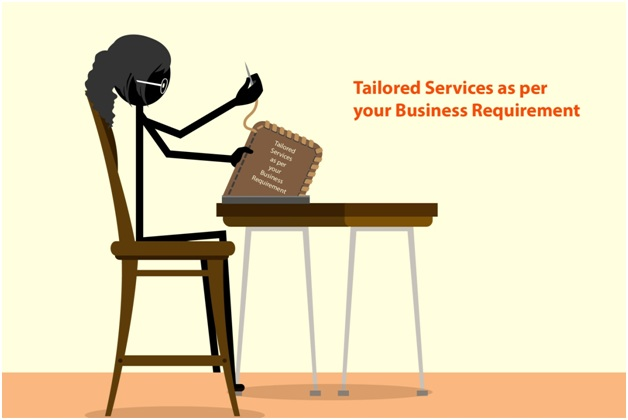 Tailored Services as per your Business Requirement